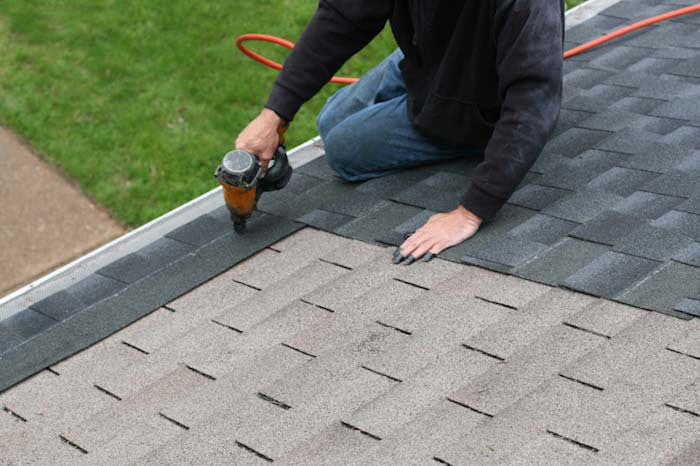roofing companies Naperville during roof installation